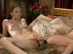 Bree Olson and Celeste Star lesbian passion tube