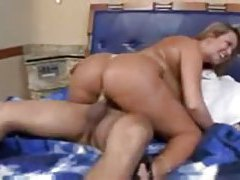 Chubby tanned Brazilian fucked in the cunt tubes