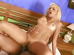Brazilian likes that black dick in the ass tubes