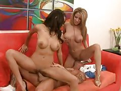 The Latina pornstars get it on with a dude tubes