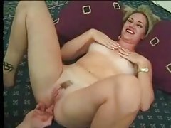 Older guy eats out and fucks a trailer trash blonde tubes