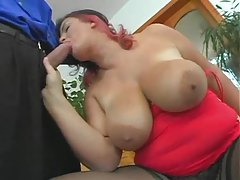 Bodacious babe with big boobs is hot tubes