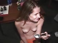 Big cock feeds girl a cumshot in hotel room tubes