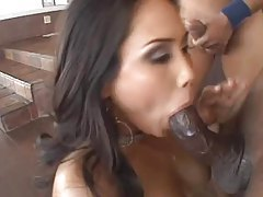 Four guys bang a slutty Asian girl hard tubes