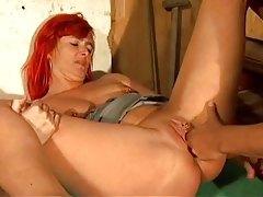 Heavily pierced and tattooed milf redhead screwed tubes