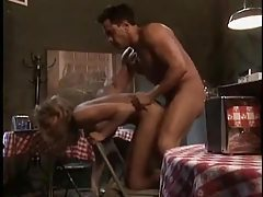 Briana Banks fucked hard in a diner tubes
