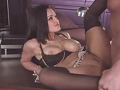 Lisa Ann looks her most beautiful in sex scene tubes