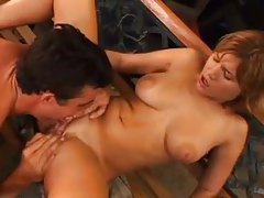 He has a hugely thick cock to fuck this babe tubes