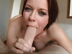 She gives an aggressive deepthroat blowjob tubes
