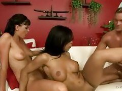 Three European ladies and a horny dude tubes