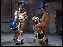 Naughty latex nurse hardcore group sex tubes