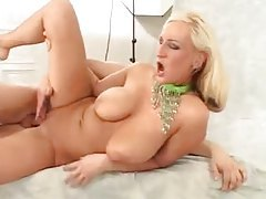 Hot curvy blonde with big hooters fucked tubes