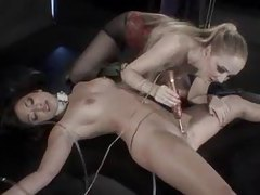 Mistress ties and plays with her sub slave girl tubes