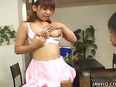 Sexy huge tit Japanese office slut in action! tubes
