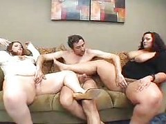 Threesome has his two favorite BBW sluts tubes