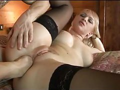 Hot slut fisted in her tight ass tubes