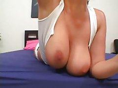 Gianna Michaels does a big tits bouncing tease tubes