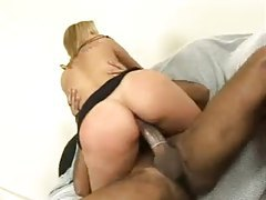 He shafts her pussy with his big cock tubes
