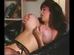 Retro porn with girl fondling her big tits tubes