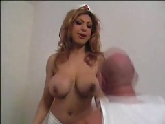 Naughty nurse slut wants her big tits sucked tubes