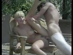 Hot sex outdoors with a number of Euro babes tubes