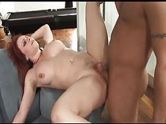 A big ass curvy milf redhead fucked in her butt tubes