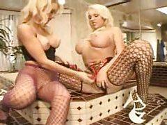 Monica Mayhem in lusty lesbian foreplay fun tubes