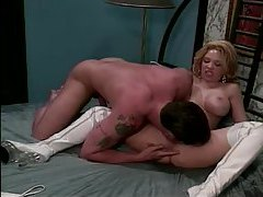 Big tits bitch in white leather boots fucked tubes