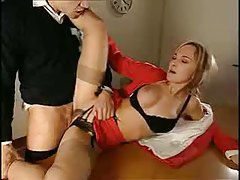 Teacher blows her horny male student tubes