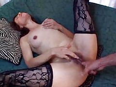 Horny amateur with curves and natural tits fucked hard tubes