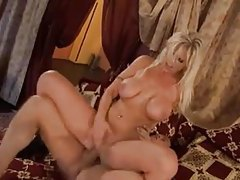 German blonde goddess fucked by a thick dick tubes
