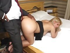 Business man fucks pussy and ass in hotel room tubes