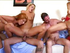 Natural breasts Europeans fucked in fivesome tubes