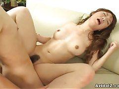 Arisa Kumada hammered by hard cock tubes