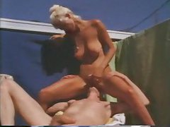 Retro sex outdoors with a hot blonde and big cock tubes