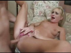 Fucking the filthy whore in the tight cunt tubes
