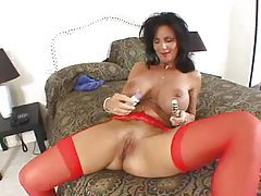 Deauxma anally toys and sucks his cock tubes