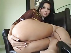 Rebeca Linares close up erotic anal play tubes