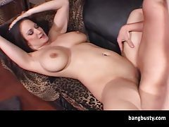 Horny Busty Babe Fucked By Geek tubes