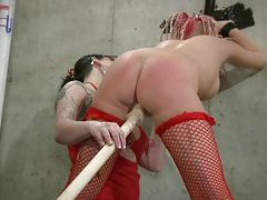 Lezdom Domination And Spanking tubes