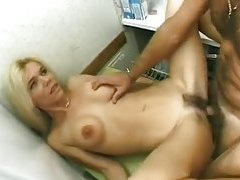 Wife in a dress fucked in her wet pussy tubes