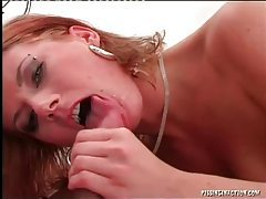 After a good fuck he pisses in her mouth tubes