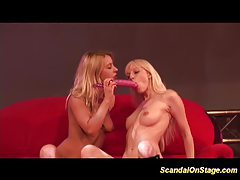 Scandal on stage stripper sex tubes