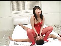 Japanese girl demands pleasure from a slave tubes