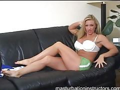 Fun big tits blonde does a sexy tease tubes