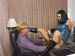 Belladonna sexy strapon and latex scene tubes
