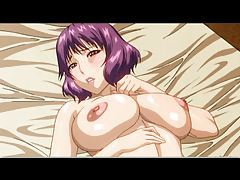 Purple hair hentai lady fucked hard tubes