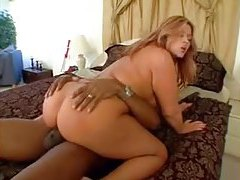 Curvy tramp stamp girl fucked by BBC tubes
