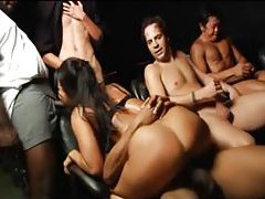 Asa Akira is horny Asian gangbang slut tubes