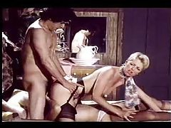Great retro hardcore threesome scene tubes